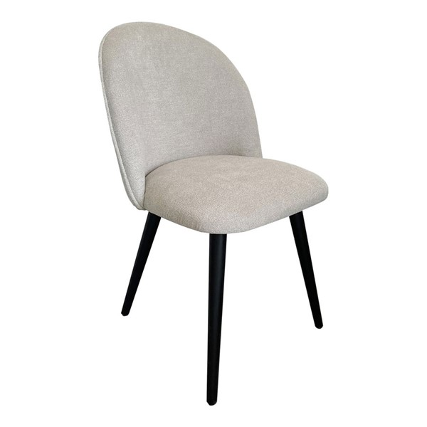 2 Moes Home Clarissa Light Grey Dining Chairs MOE-JW-1002-29