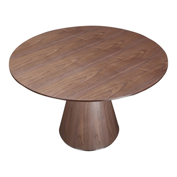 Moes Home Otago Brown Round Dining Table MOE-KC-1028-03