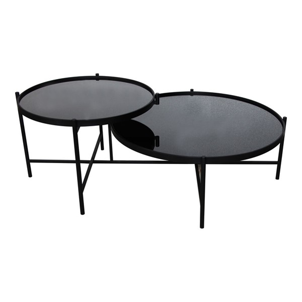 Moes Home Eclipse Black Coffee Table MOE-KK-1024-02