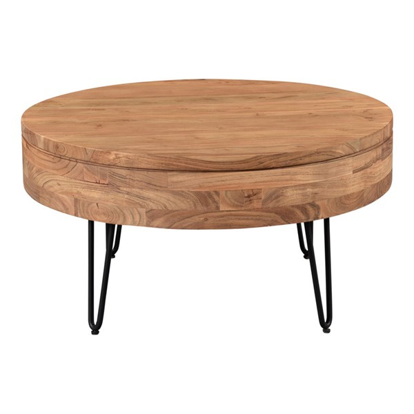 Moes Home Privado Natural Wood Coffee Table MOE-KY-1008-24