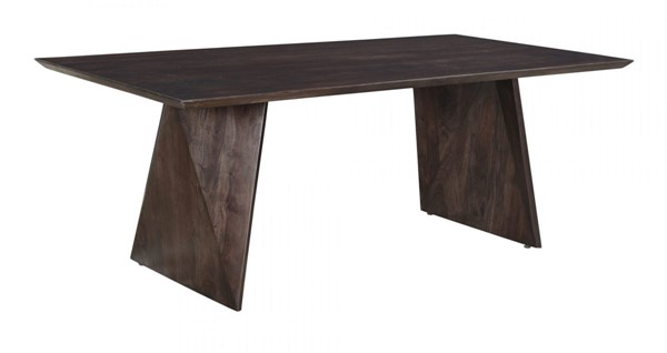 Moes Home Vidal Smoky Brown Dining Table MOE-KY-1011-25