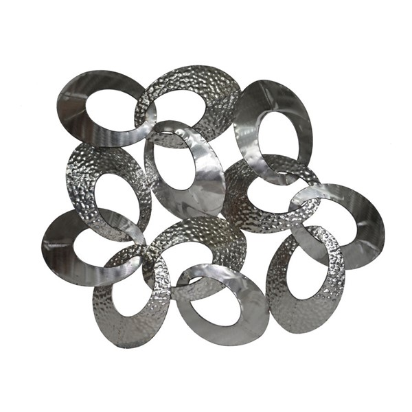 Moes Home Silver Looped Wall Decor MOE-MJ-1008-30