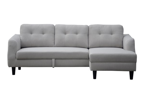 Moes Home Belagio Beige Fabric Sofa Bed with Right Chaise MOE-MT-1019-34-R