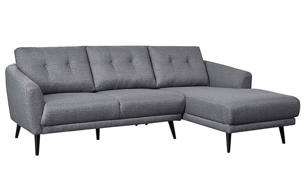 Moes Home Carson Dark Grey Right Facing Sectional MOE-MT-1020-25-R