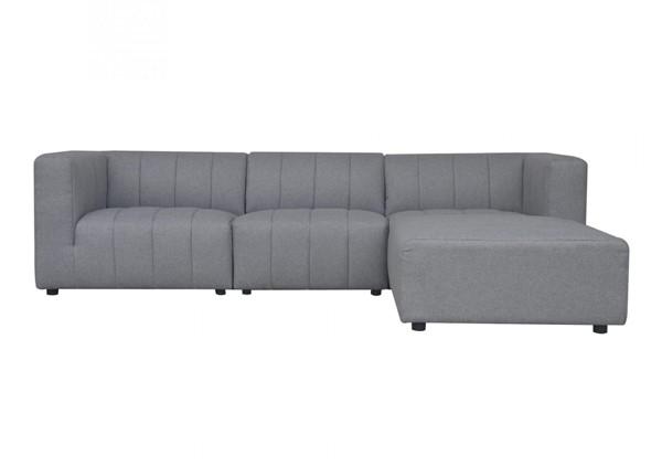 Moes Home Lyric Grey Fabric 4pc Sectionals MOE-MT-1022-LR-S-V2