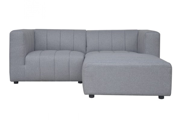 Moes Home Lyric Grey Fabric 3pc Sectionals MOE-MT-1022-LR-S-V1