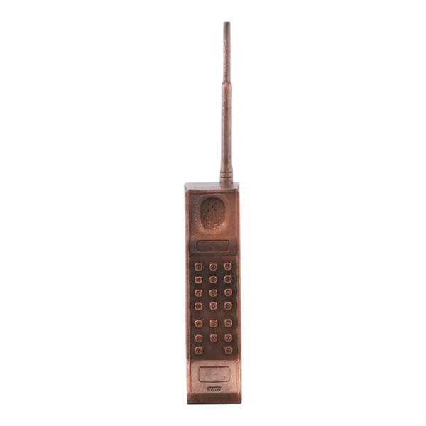 Moes Home Bronze Cell Phone Table MOE-NM-1033-31
