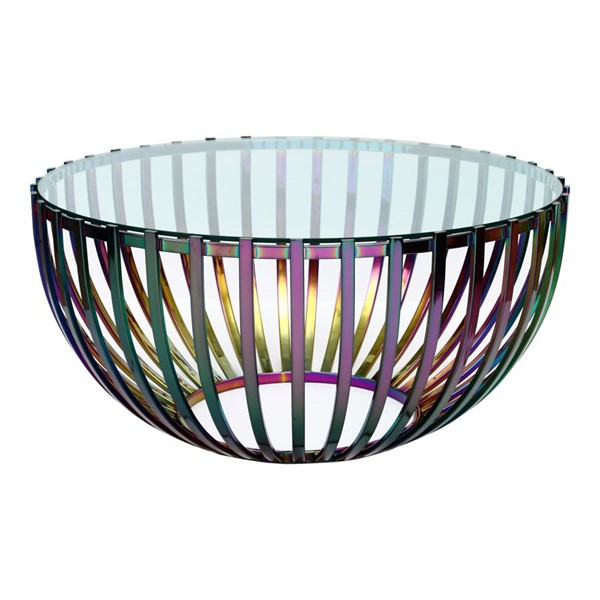 Moes Home Prism Glass Small Coffee Table MOE-OT-1022-37
