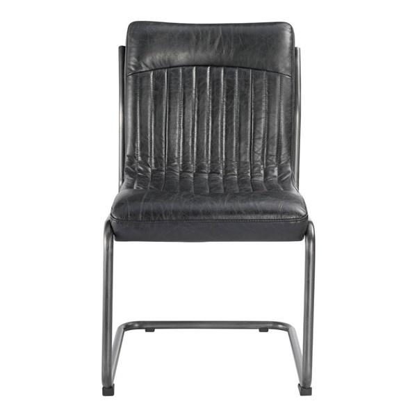 2 Moes Home Ansel Black Dining Chairs MOE-PK-1043-02