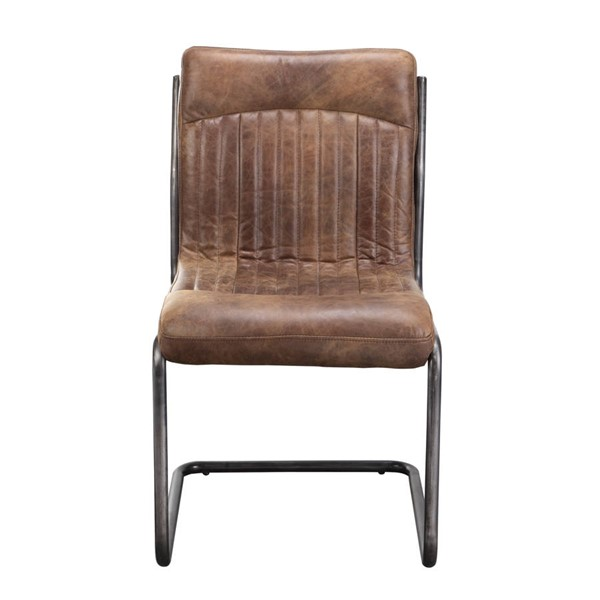 Moes Home Ansel Brown Dining Chairs MOE-PK-1043-DC-VAR
