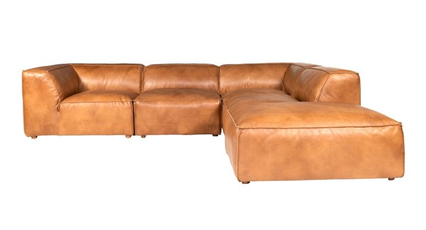 Moes Home Luxe Tan Dream Modular Sectional MOE-QN-1026-40