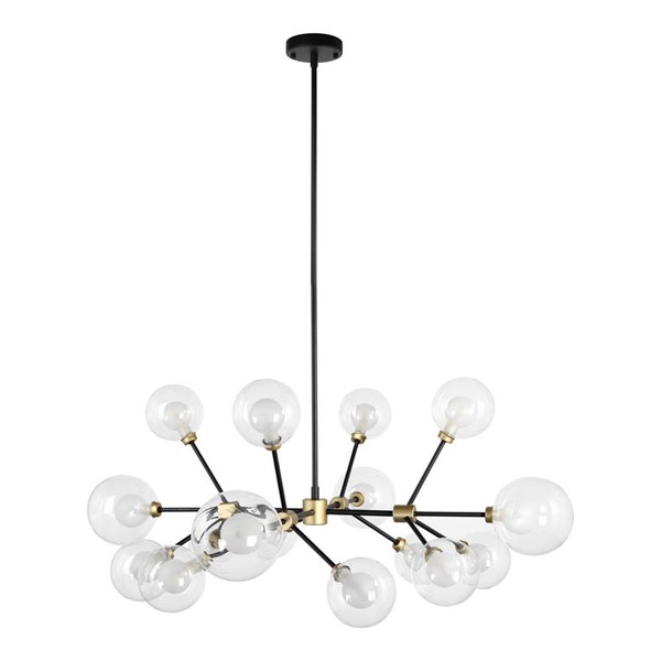 Moes Home Gold Andromeda Metal Pendant Light MOE-RM-1053-23