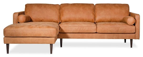 Moes Home Unwind Ranch Gingersnap Left Sectional MOE-SCL-XB-001-034