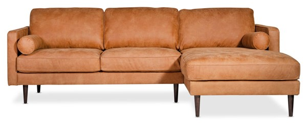 Moes Home Unwind Ranch Gingersnap Right Sectional MOE-SCR-XB-001-034