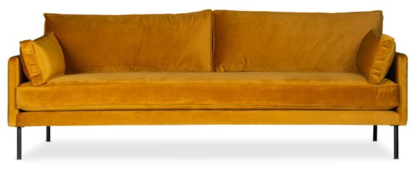 Moes Home Cultivate Yellow Golden Sofa MOE-SOF-WB-001-028