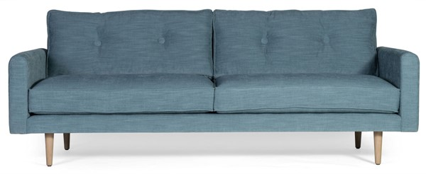 Moes Home Book Club Turquoise Sofa MOE-SOF-WB-004-030