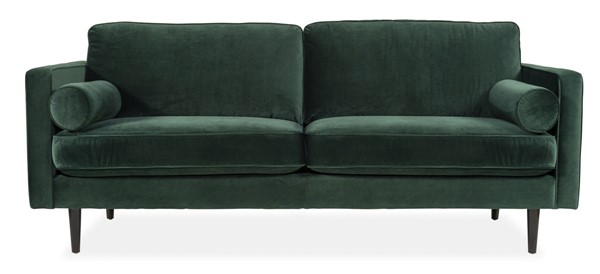 Moes Home Unwind Dark Green Fir Sofa MOE-SOF-XB-002-032