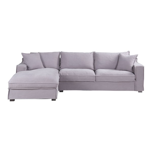 Moes Home Chill Dark Grey Left Sectional MOE-UB-1010-15-L