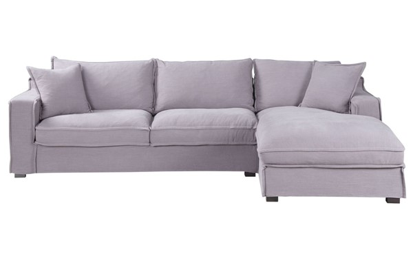 Moes Home Chill Grey Right Sectional MOE-UB-1010-15-R