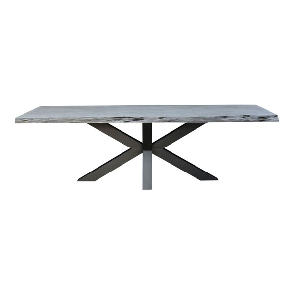 Moes Home Edge Grey Wood Dining Table MOE-UH-1018-29