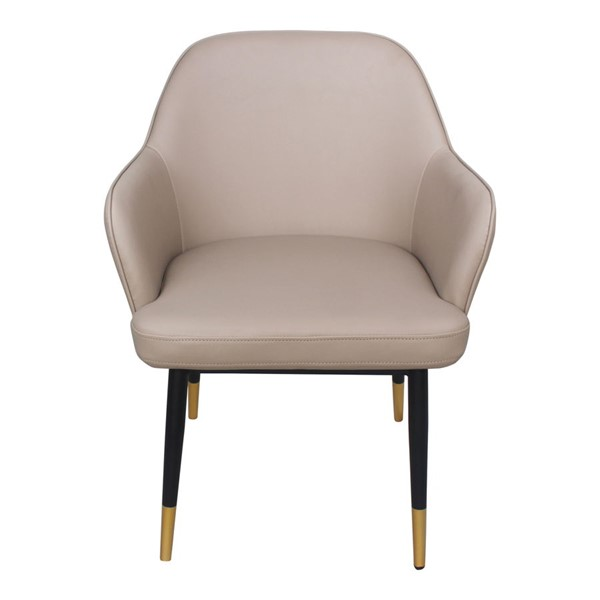 Moes Home Berlin Taupe Polyester Accent Chair MOE-UU-1019-39