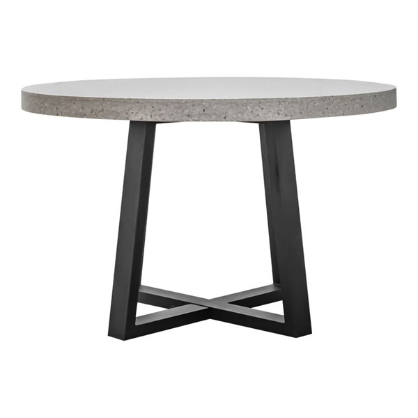 Moes Home Vault White Terazzo Dining Table MOE-VH-1002-18