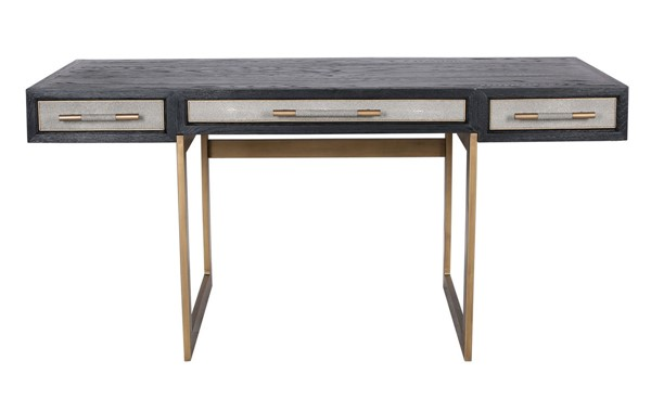 Moes Home Mako Black Wood Desk MOE-VL-1053-15