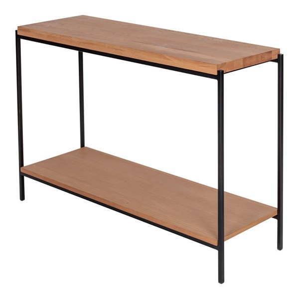 Moes Home Mila Natural Solid Wood Console Table MOE-YC-1010-24