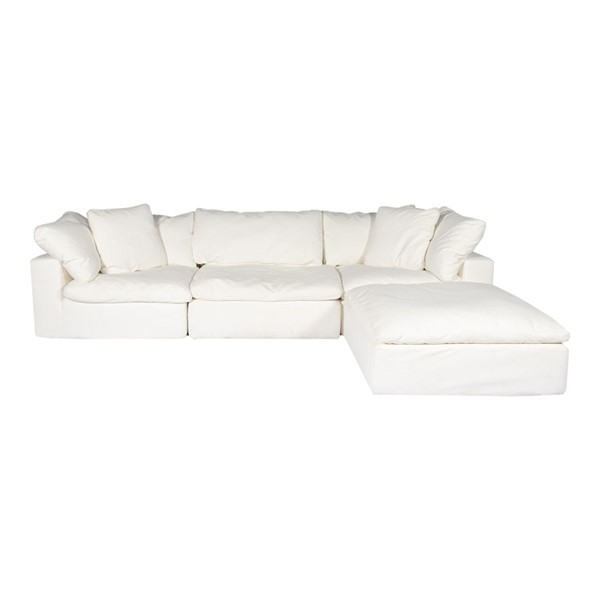Moes Home Clay Polyester Lounge Modular Sectionals MOE-YJ-1008-SEC-VAR
