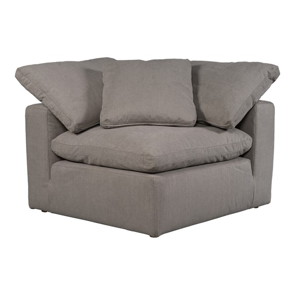 Moes Home Terra Condo Light Grey Corner Chair MOE-YJ-1012-29
