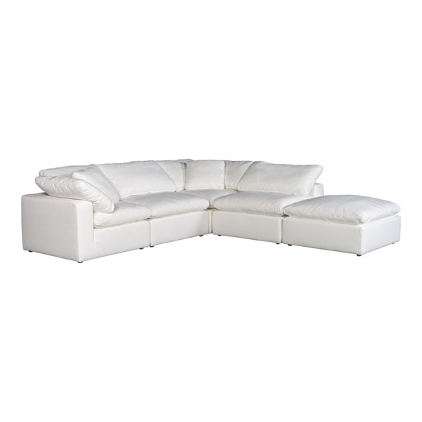 Moes Home Clay Cream Polyester Dream Modular Sectional MOE-YJ-1011-05
