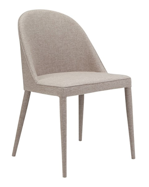 Moes Home Burton Beige Polyester Iron Dining Chair MOE-YM-1001-26
