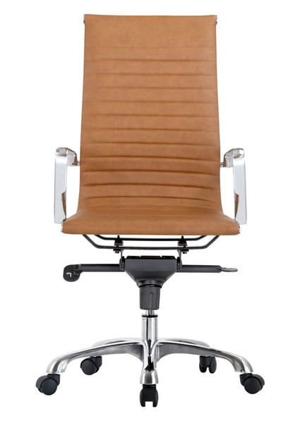 Moes Home Omega Tan High Back Office Chair MOE-ZM-1001-40