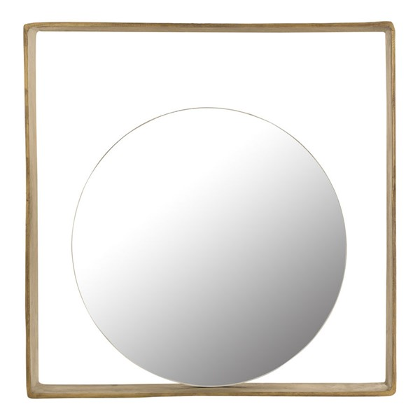 Moes Home Tahoe Anitque Brass Mirror MOE-ZY-1031-51