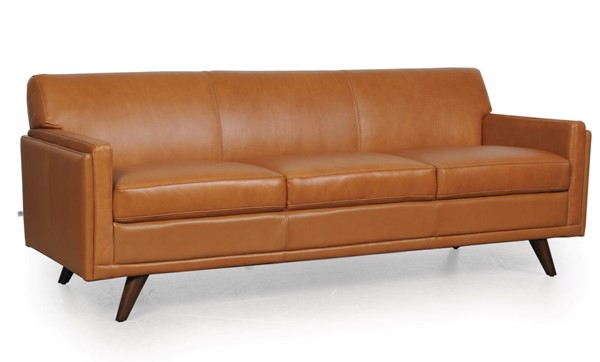 Moroni Milo Tan Leather Sofa MOR-36103BS1676