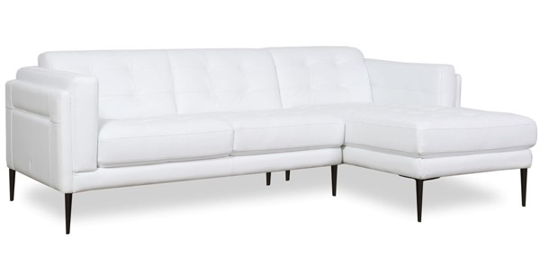 Moroni Murray Pure White Leather Sectional MOR-440SCBS1641