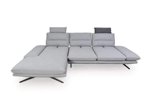 Moroni Kirstie Grey Fabric Adjustable Sectional MOR-294SCMF3AA381A