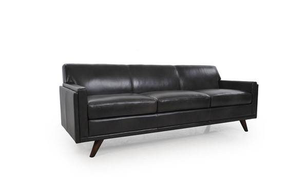 Moroni Milo Charcoal Leather Sofa MOR-36103BS1171