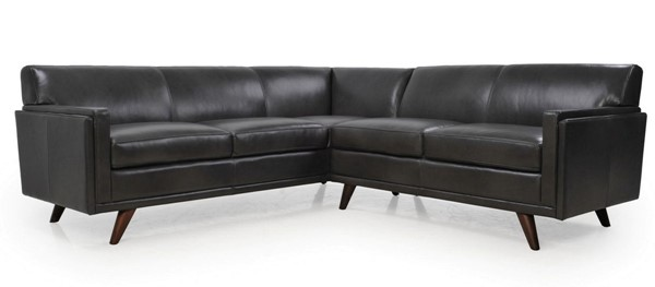 Moroni Milo Charcoal Leather 2pc Sectional MOR-361SCBS1171