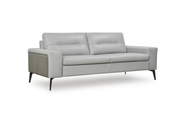 Moroni Trina Light Grey Leather Sofa MOR-36603BS13691309