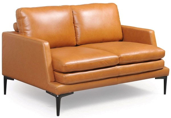 Moroni Rica Tan Leather Modern Loveseat MOR-43902BS1961
