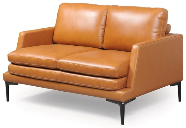 Moroni Rica Tan Leather Loveseat MOR-439021676