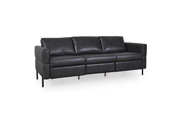 Moroni Morris Charcoal Leather 2pc Living Room Set MOR-59037C2181-LR-S1