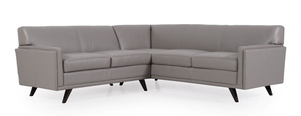 Moroni Milo Argent Leather 2pc Sectional MOR-361SCBS1308