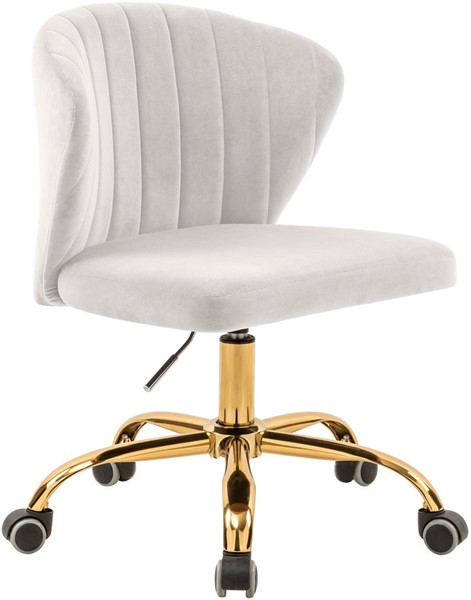 Meridian Furniture Finley Cream Office Chair MRD-165Cream