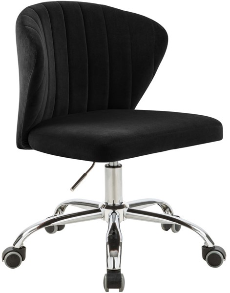 Meridian Furniture Finley Black Grey Office Chairs MRD-166-OCT-VAR