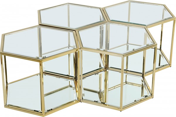 Meridian Furniture Sei 4pc Coffee Tables MRD-205-CT-4PC-VAR
