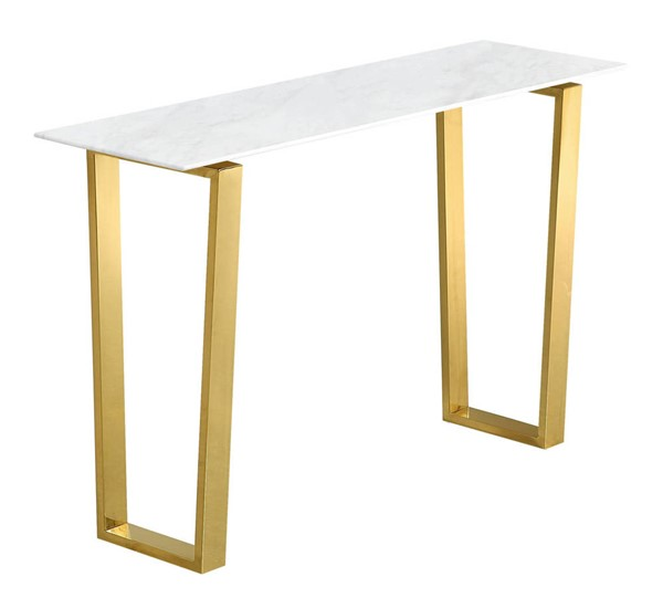 Design Edge Manilla  Gold Console Table DE-21987722
