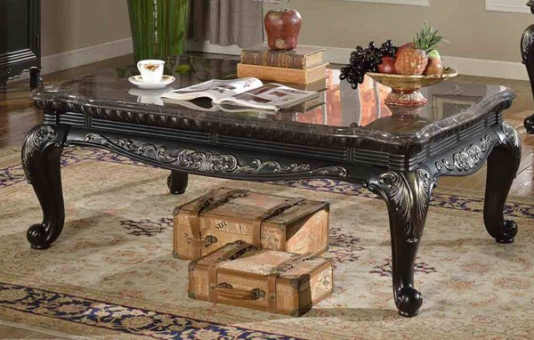 Meridian Furniture Florence Black Coffee Table MRD-218-C