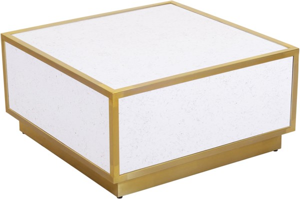 Meridian Furniture Glitz White Black Coffee Tables MRD-242-CT-VAR